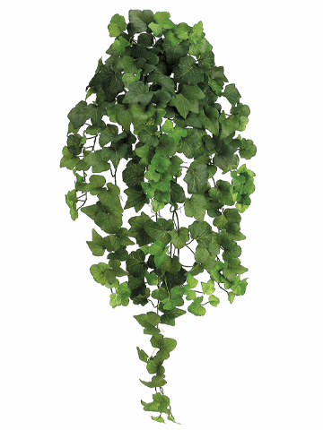 "31"" Artificial Natural Hedera Ivy Bush Vine - Set of 4"