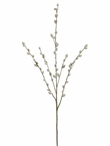 "31"" Artificial Pussy Willow Stems - Set of 12"