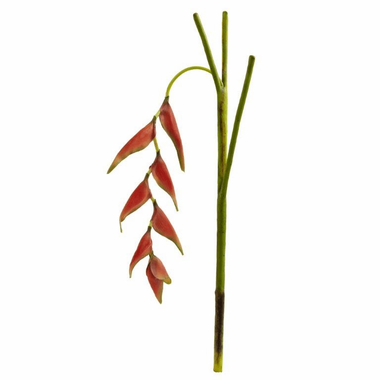 31�� Hanging Heliconia Artificial Flower (Set of 4)