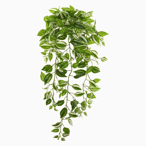 "32"" Wandering Jew Hanging Artificial Plant (Set of 2) (Real Touch)"