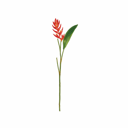 """33"""" Artificial Mini Heliconia Flower Spray - Set of 12"""