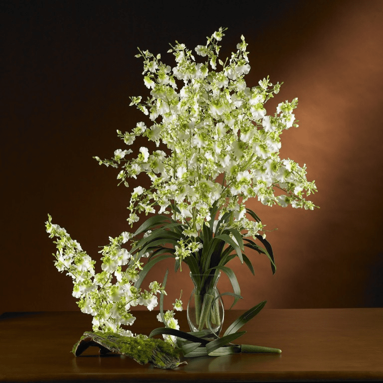 "33"" Dancing Lady Silk Orchid Flower (6 Stems)"