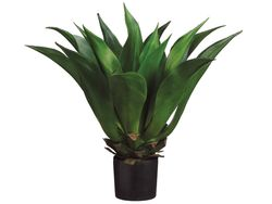 "33""- Artificial Giant Mexican Agave Plant in Plastic Pot"