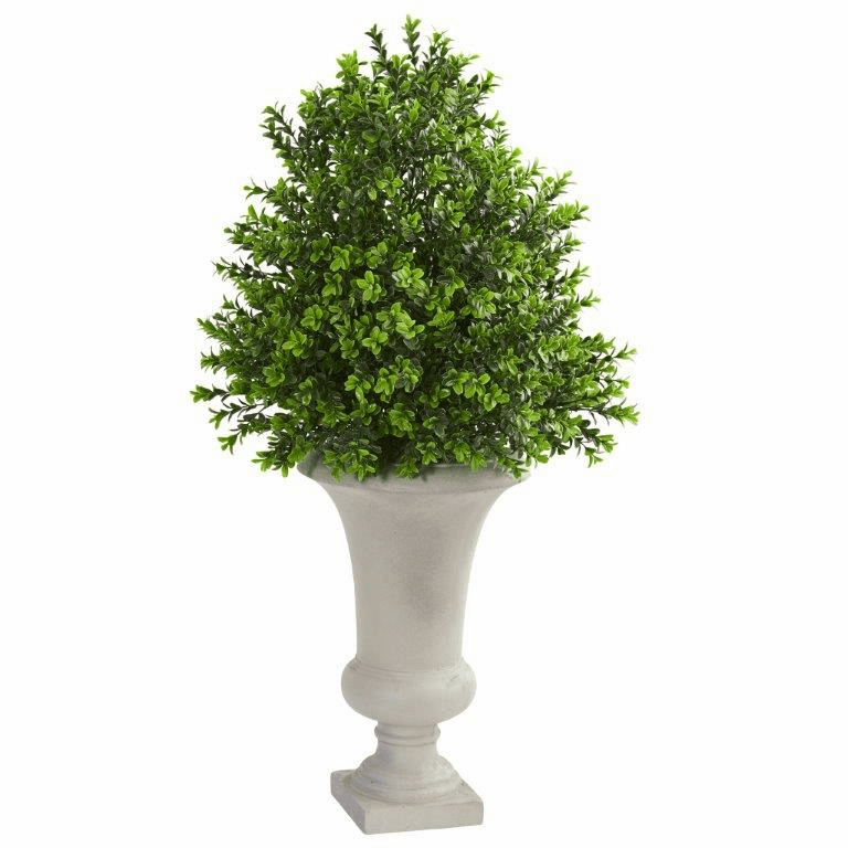 "33"" Sweet Grass Artificial Plant Topiary in Urn"