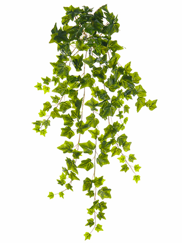 "34"" Artificial Ivy Hanging Bush - Set of 6"