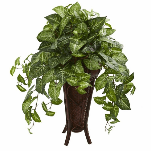 """34"""" Nepthytis Artificial Plant in Stand Planter"""