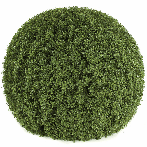 "36"" Artificial Boxwood Ball - Non Potted - Limited UV Rated"
