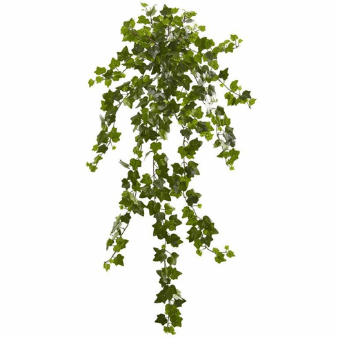 "36"" Curly Ivy Artificial Hanging Plant (Set of 3)"