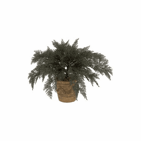 """37"""" Artificial Outdoor Spreading Juniper Plant (pot not included) - UV Infused  Set of 4"""