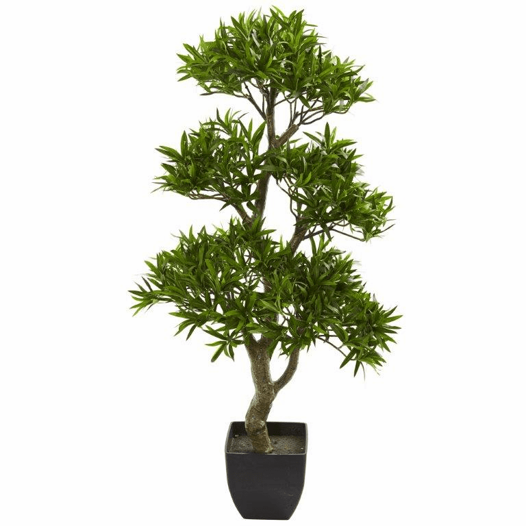 37� Bonsai Styled Podocarpus Artificial Tree