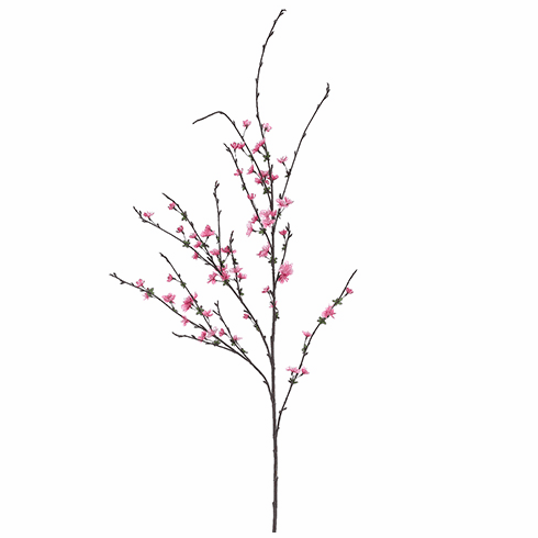 "38"" Artificial Cherry Blossom Spray  - Set of 12 Silk Flowers"