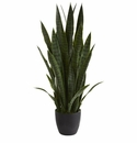 38� Sansevieria Artificial Plant - Green