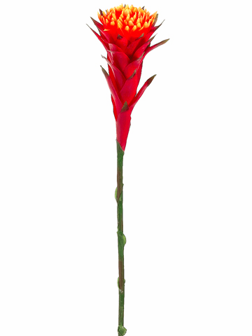 "39"" Artificial African Bromeliad Flower Spray  - Set of 12"