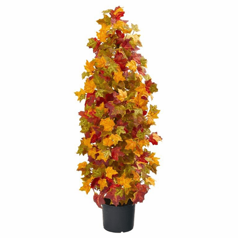 "39"" Autumn Maple Artificial Tree"