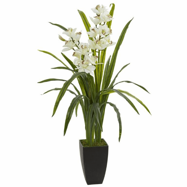 39� Cymbidium Orchid Artificial Plant