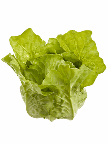 "4.7""  Artificial Lettuce Head - Set of 8"