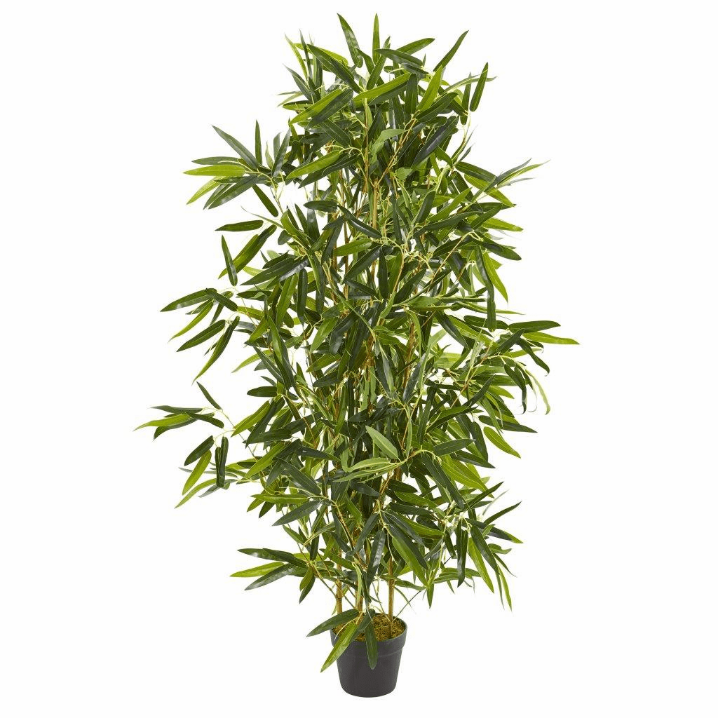 4� Bamboo Artificial Tree (Real Touch) UV Resistant (Indoor/Outdoor)