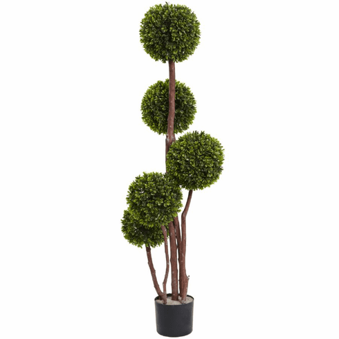 4' Boxwood Topiary UV Resistant (Indoor/Outdoor)