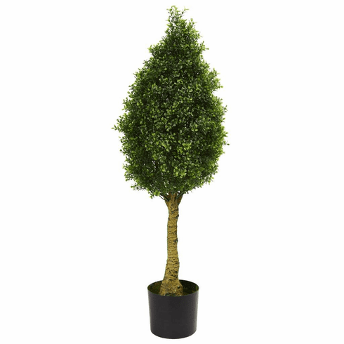 4' Boxwood Tower Artificial Tree UV Resistant (Indoor/Outdoor)