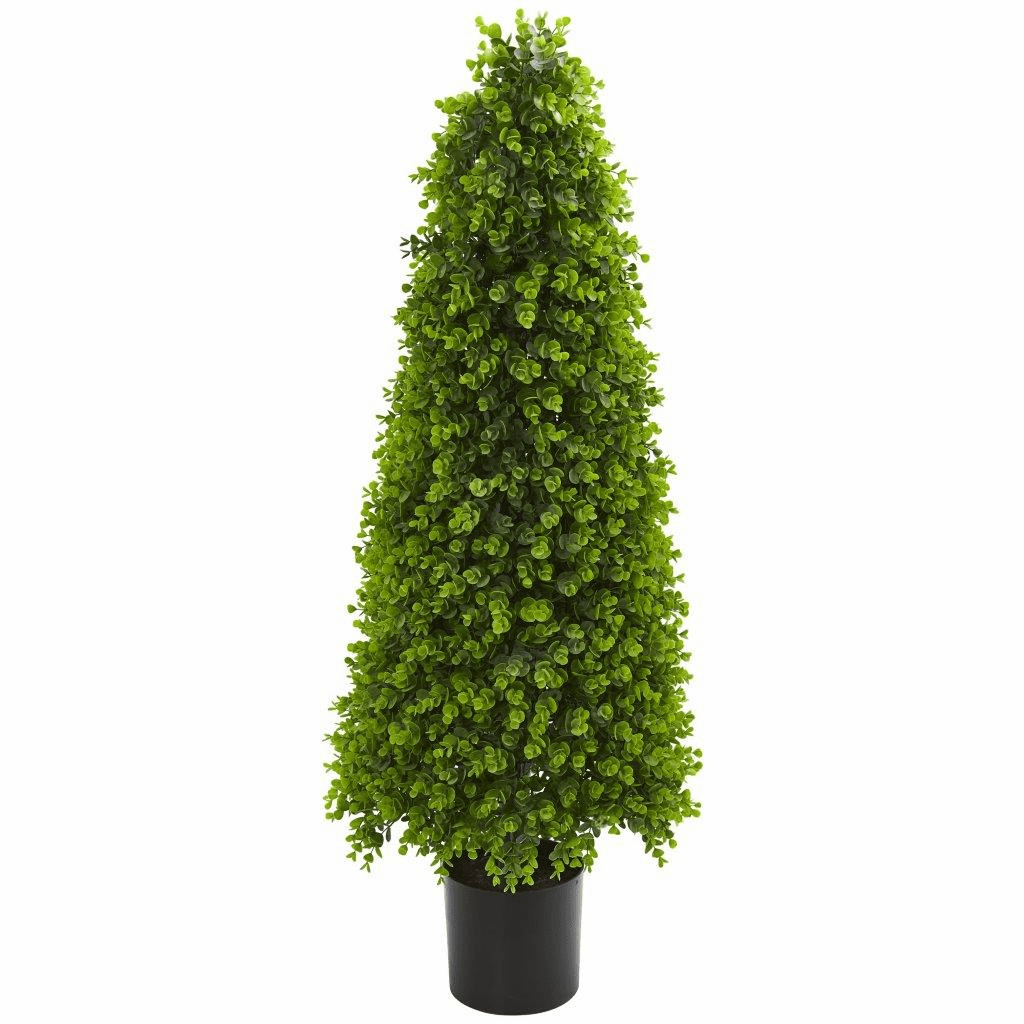 4� Eucalyptus Topiary Artificial Tree (Indoor/Outdoor)