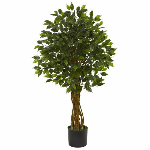 4' Ficus Artificial Tree UV Resistant (Indoor/Outdoor)