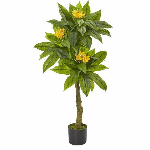4' Plumeria Artificial Tree UV Resistant (Indoor/Outdoor)