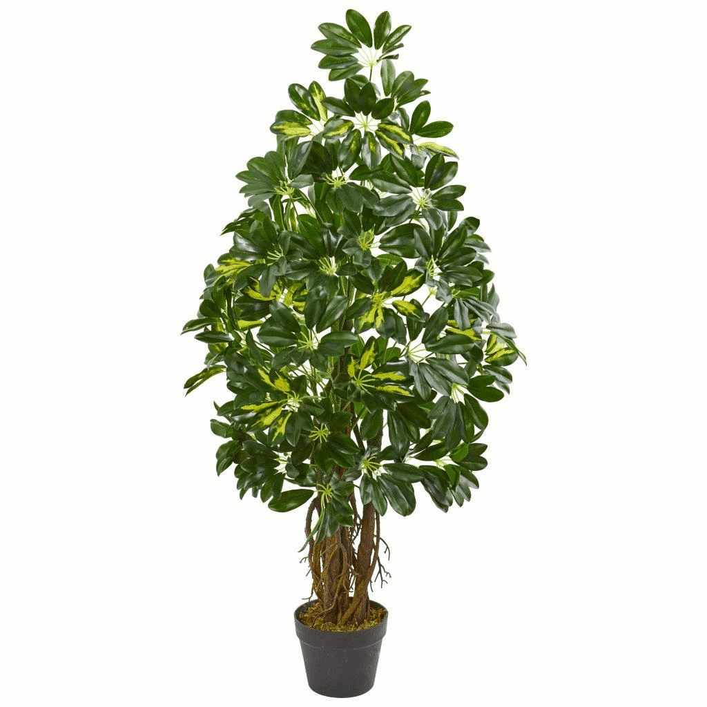 4� Schefflera Artificial Tree