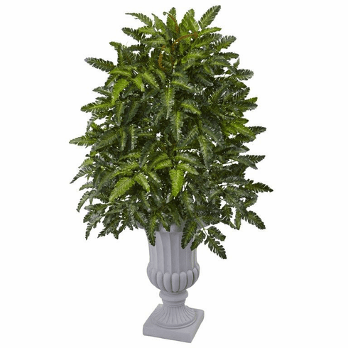 "40"" Artificial Bracken Fern Arrangement in Decorative Urn"