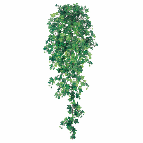 "40"" Artificial Curly Ivy Hanging Bush with 739 Leaves - Set of 4"