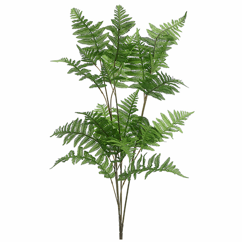 "42"" Artificial Forest Fern Bush Stem - Set of 12"