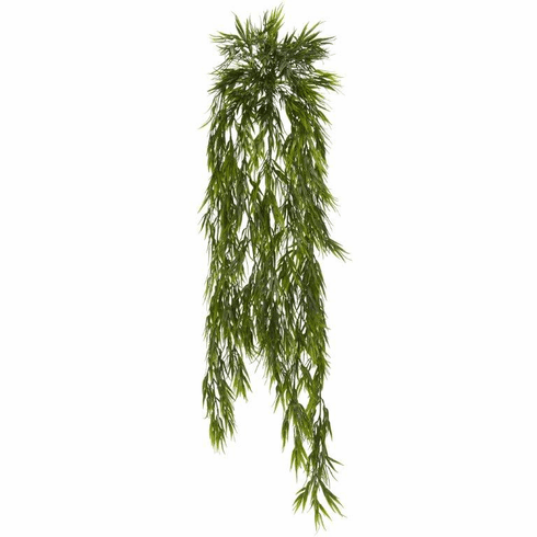 "43"" Mini Artificial Bamboo Hanging Bush Plant  Non Potted - Set of 2"
