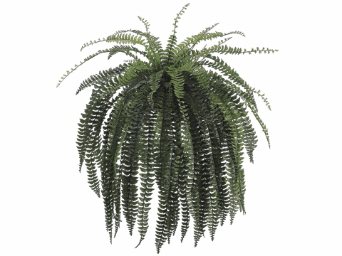 "46"" Artificial Large Fishtail Fern Bush"