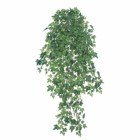 "46"" Artificial Mini Ivy Hanging Bush 22 Vines with 955 Leaves - Set of 6"