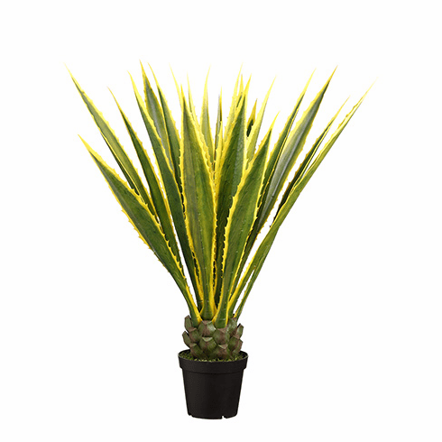"48"" Artificial Agave Americana in Pot - Set of 2"