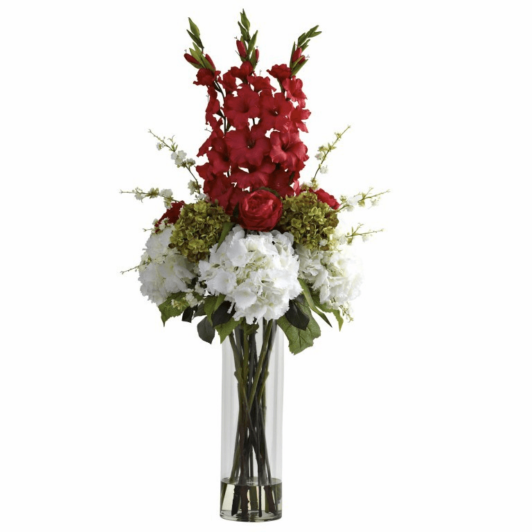 "48"" Giant Mixed Artificial Floral Arrangement"
