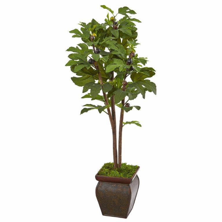 49� Fig Artificial Tree in Decorative Planter -