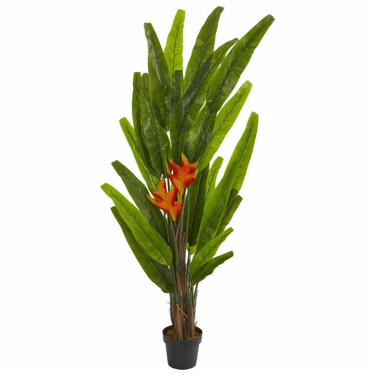 5.5� Heliconia Artificial Plant