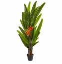 5.5� Heliconia Artificial Plant - N/A