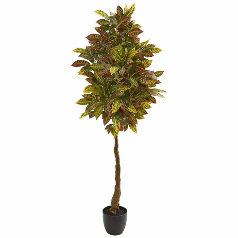 5' Croton Artificial Tree