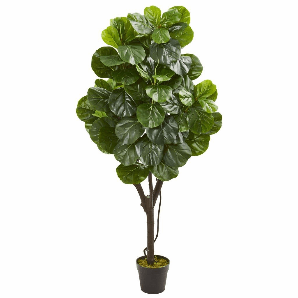 5� Fiddle Leaf Fig Artificial Tree