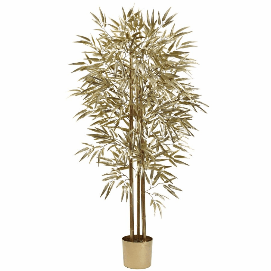 5' Golden Bamboo Tree w/880 Lvs