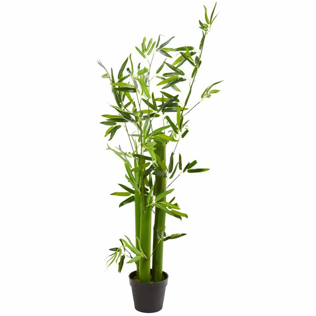 5� Green Bamboo Artificial Tree