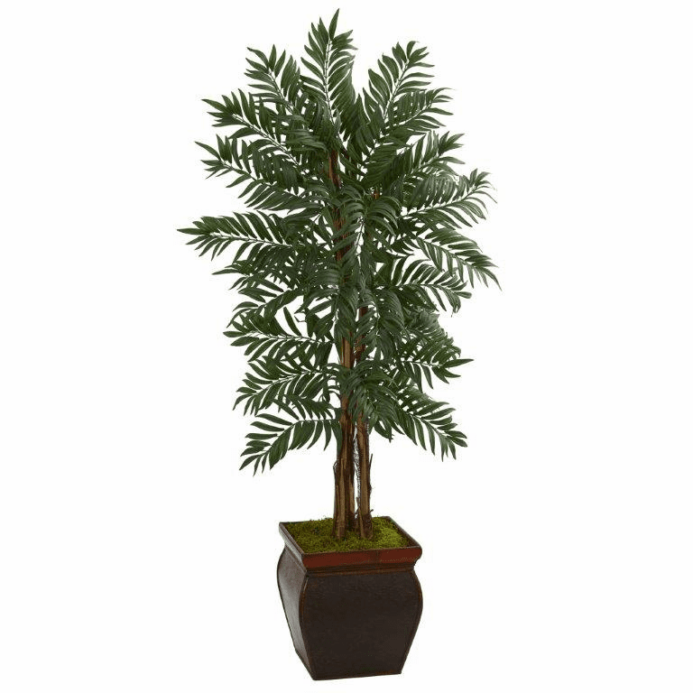 5� Parlor Palm Artificial Tree in Decorative Planter