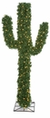 5' PVC Holiday Cactus Artificial Tree with warm white LED Lights