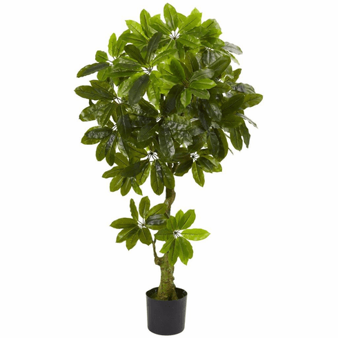 5' Schefflera Artificial Tree UV Resistant (Indoor/Outdoor)