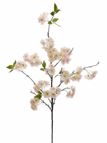 "50"" Artificial Cherry Blossom Silk Flower Spray - Set of 12"