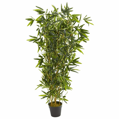 "57"" Bamboo Artificial Tree (Real Touch) UV Resistant (Indoor/Outdoor)"