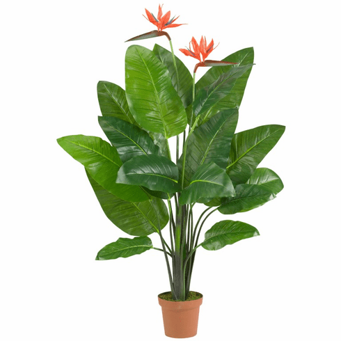 """58"""" Bird of Paradise Plant (Real Touch)"""