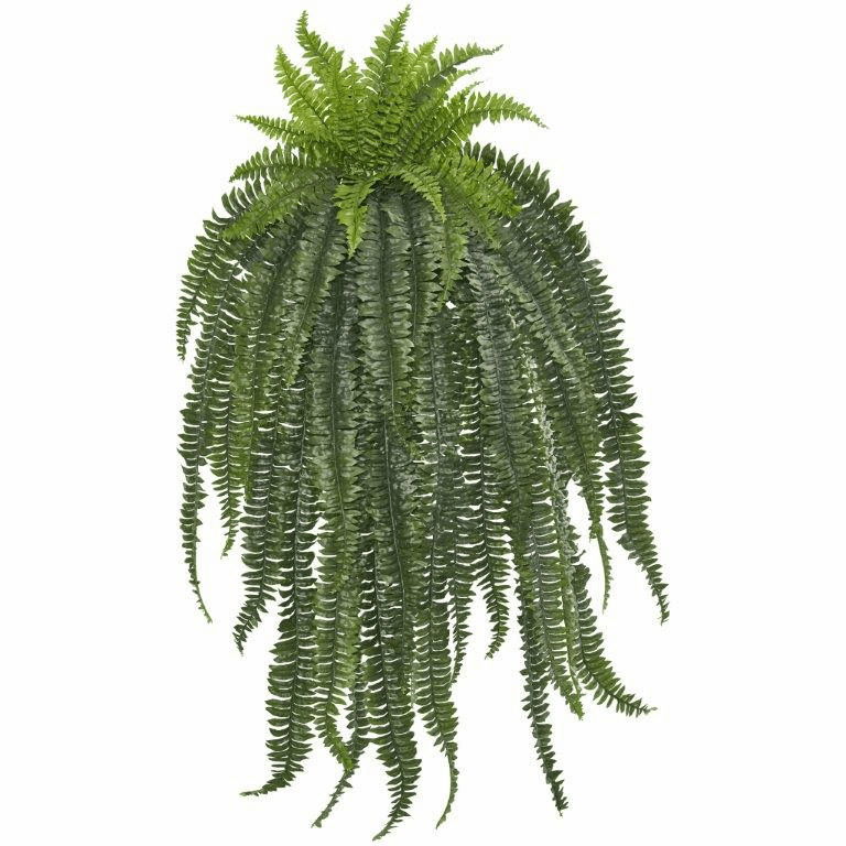 58� Boston Fern Artificial Hanging Plant