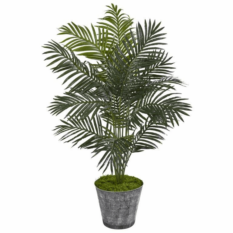 58� Paradise Palm Artificial Tree in Decorative Planter -